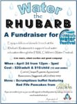 Water The Rhubarb 2016