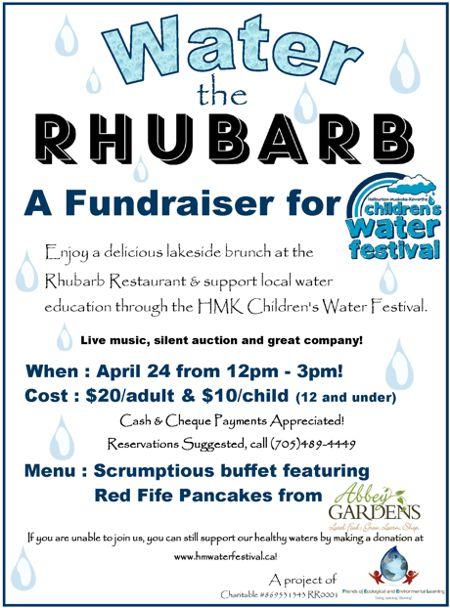 Water The Rhubarb 2016